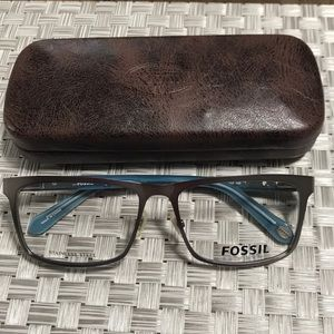 New Authentic Stainless Steel Fossil men Frame